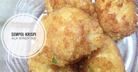 resep  membuat sempolan enak  sederhana cookpad