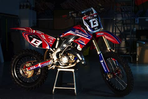 custom motocross bikes honda crf custom dirt bike graphics image gallery
