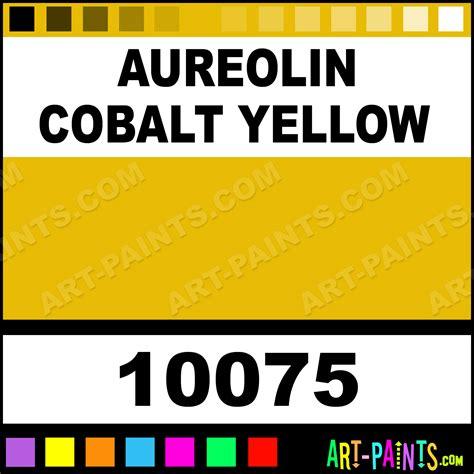 aureolin cobalt yellow artist paints 10075 aureolin cobalt yellow paint aureolin cobalt