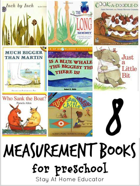 measurement picture books 8 measurement books for preschool plus 64 other math