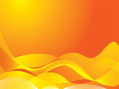 powerpoint templates free download orange orange waves powerpoint templates abstract orange