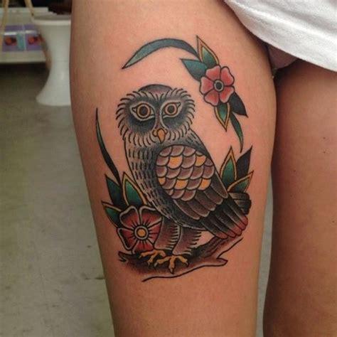 tattoo old school gamba tatuaje old school b 250 ho muslo por forever tattoo