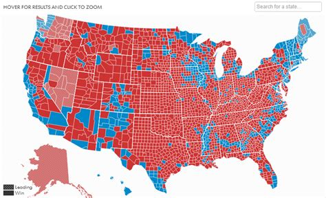 us election map 2012 results common cents us 2012 election results map by county
