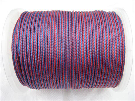 6mm Polypropylene Rope - 6mm x 175 metre blue 16 plait single braided