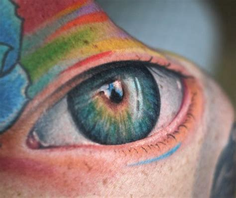 tattoo eye color rainbow color eye tattoo design tattooshunt com