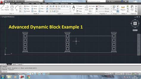 tutorial autocad dynamic blocks autocad advanced dynamic block tutorials john david