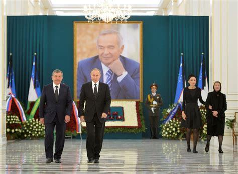 uzbek parliament appoints pm mirziyoyev as interim president uzbekistan interim head shavkat mirziyoyev likely to win