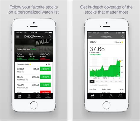 yahoo new layout 2014 yahoo finance updated with new design and requested features