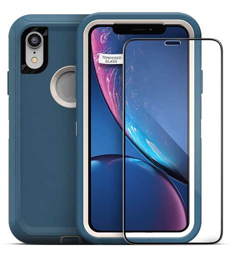 iphone xr otterbox defender screen protector encased