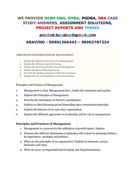 Nibm Mba Student Login by Describe The Fundamentals Of Staffing Manpower And Its