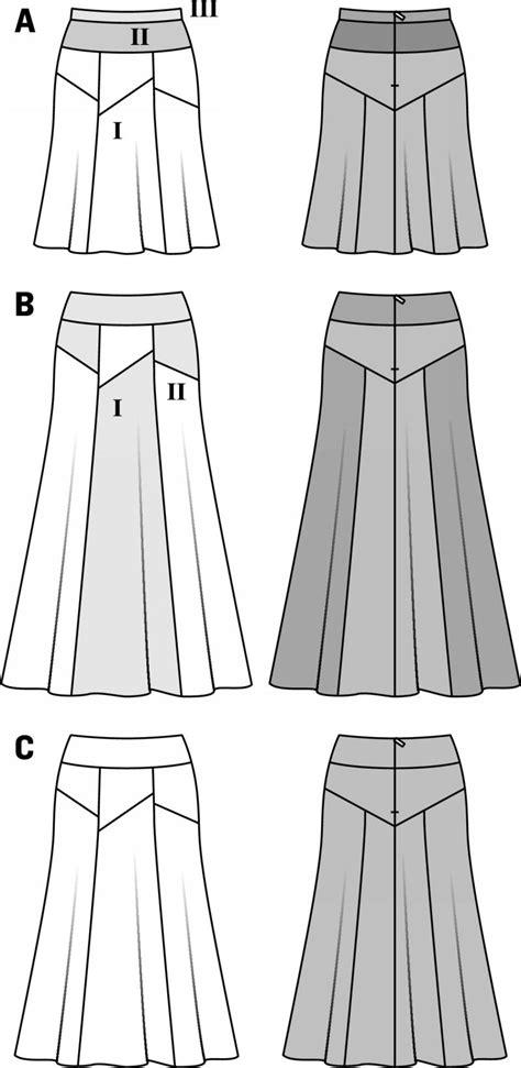 free pattern gored skirt burda 6979 gored skirt