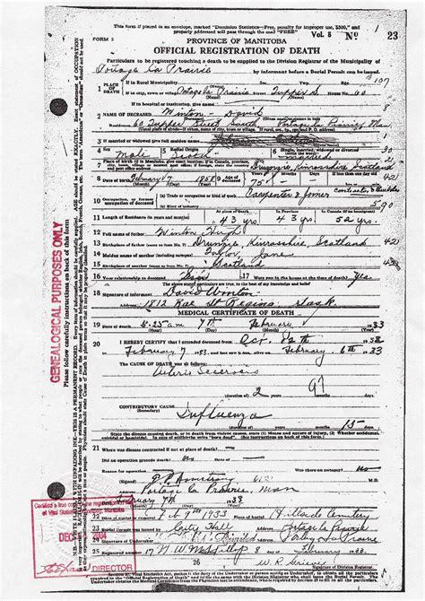 Birth Records Manitoba Sources