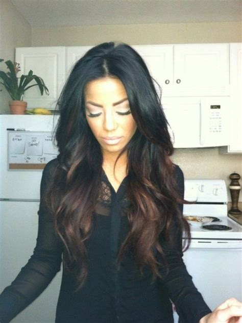 black to brown ombre hair extensions hair color ideas for skin