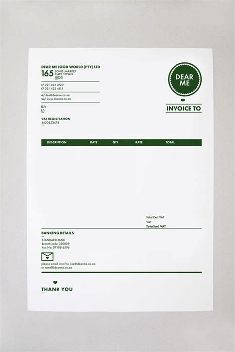 branding design invoice granite invoice template free printable stuff