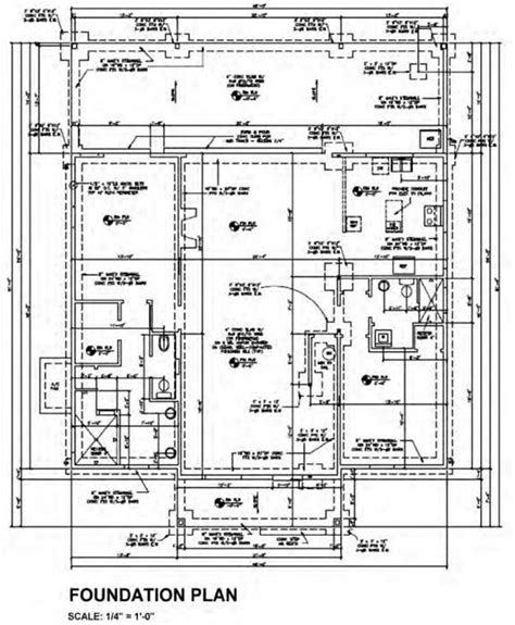 layout plan for foundation blueprint layout of construction drawings construction 53