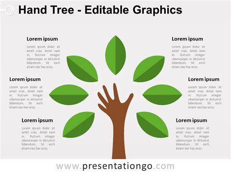 tree diagram template powerpoint tree tree powerpoint diagram presentationgo