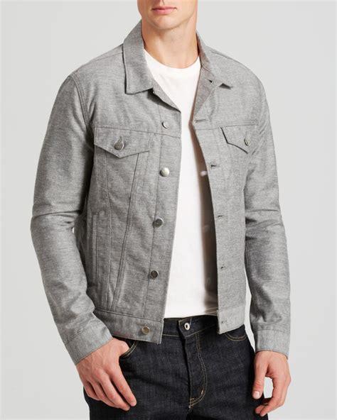 Lyst J Brand Denim Jacket In Gray For Men