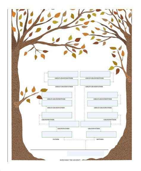 4 generation family tree template free 19 family tree templates free premium templates