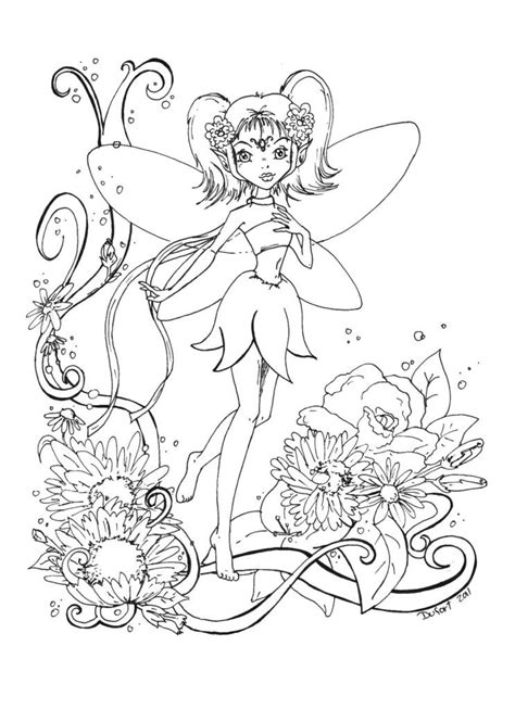 coloring pages of flowers with names coloring page on digital sts
