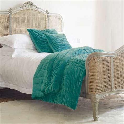 green velvet comforter peacock blue stonewash velvet quilt graham and green