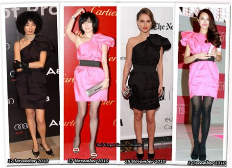 Who Wore It Better Carpet Style Awards by Who Wore Lanvin For H M Better Maggie Cheung Lau