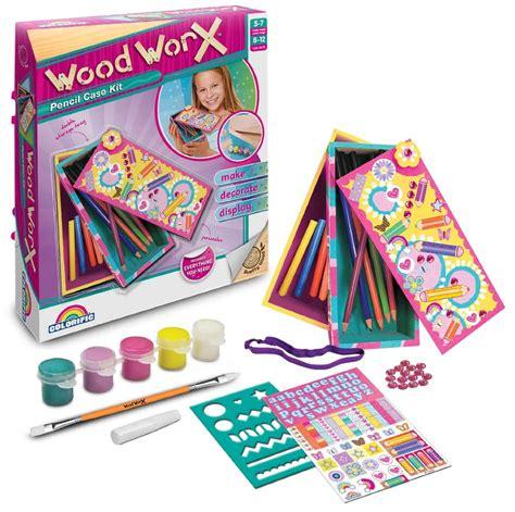 craft kits for australia wood worx pencil craft kit at mighty ape