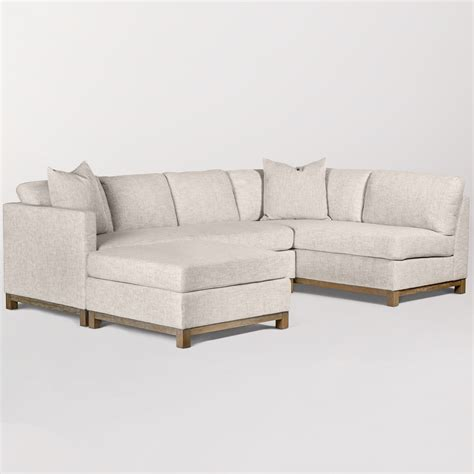 sectional sofas ta clayton sectional left arm facing alder tweed furniture