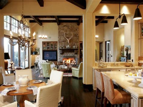 Open Concept Kitchen Living Room Design Lifted with Open
