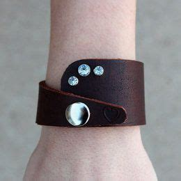 210 best jewelry ideas images on leather