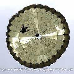 US Army MC1-1C/D T-10 Military Personnel Parachute 35 Ft ... Jumpmaster School Ft Benning