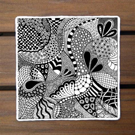 zentangle pattern drawing as meditation zentangle patterns for beginners the captured fig