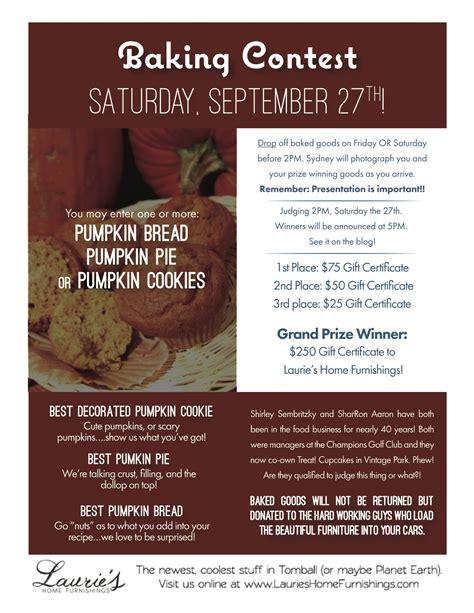 Baking Giveaway - pie baking contest flyer newhairstylesformen2014 com
