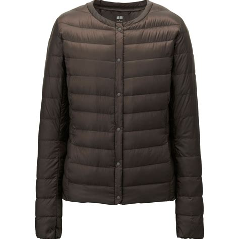uniqlo women ultra light down parka uniqlo brown women ultra light down compact jacket lyst