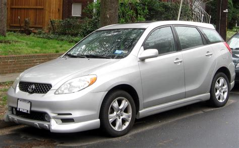 toyota matrix xrs the motoring world takata airbag cars from honda toyota