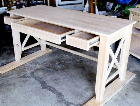 diy writing desk woodworking desk diy furniture plans
