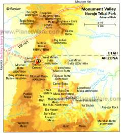 monument valley arizona map 15 top tourist attractions in arizona planetware