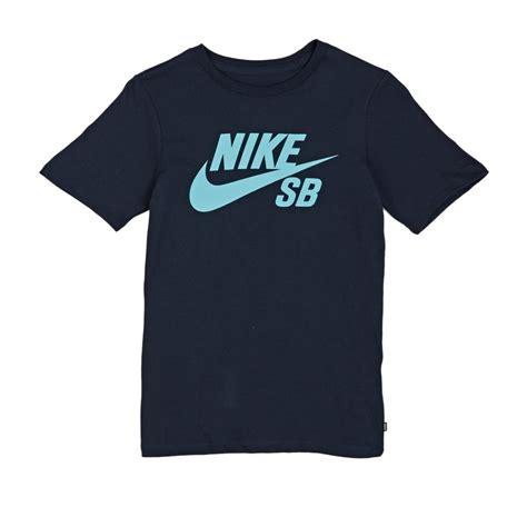 T Shirt 6 0 Nike Blue nike skateboarding nike sb boys icon t shirt obsidian