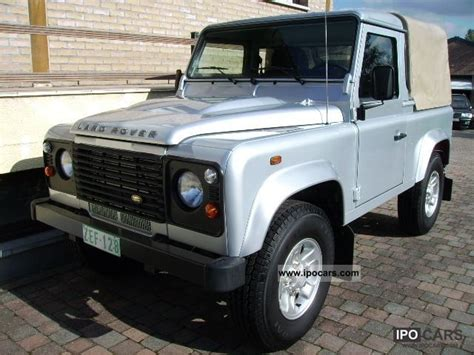2010 land rover defender 90 up s car photo and specs