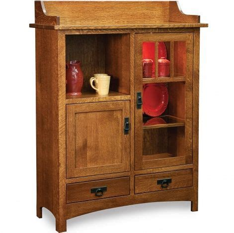 amish artisans collaborate to create a new solid wood 79 best amish hutches display cabinets images on pinterest