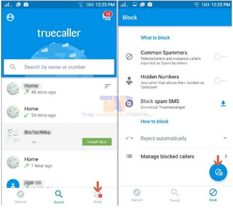 block number on android how to block calls on android using truecaller