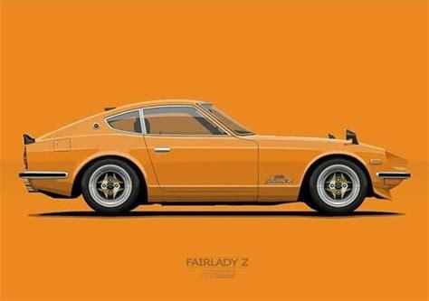 Datsun Fairlady Z   Cars sketches   Pinterest   Cars