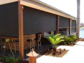 bamboo patio shades sunshade outdoor blinds aussie pergolas