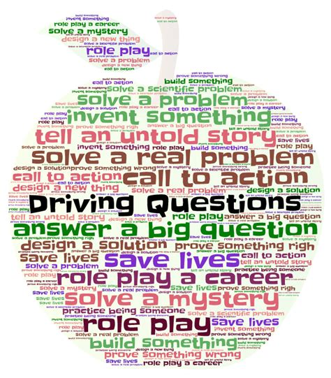 drive questions lifepractice learning let s practice real life right now