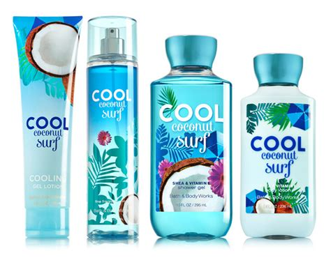 Cool Scent Vanila cool coconut surf bath and works perfume a