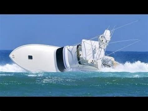 boat crash compilation this violent ship and boat crash compilation will amaze