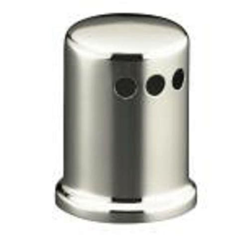 kitchen air gap air gap cap in brushed nickel 58471 the home
