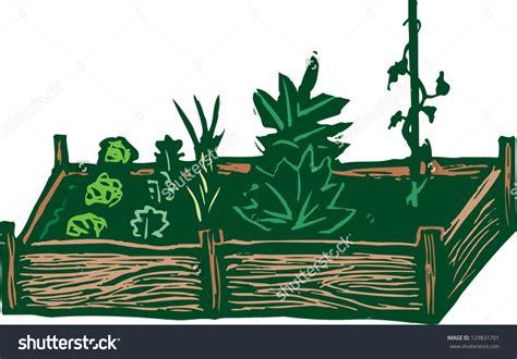 garden bed clipart clipground