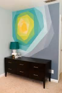 how to make a wall mural from a picture painted flower wall mural artwork hey let s make stuff