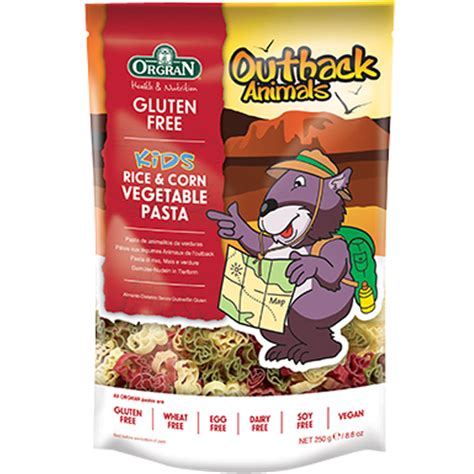 Orgran Pasta Corn Spiral 250gr orgran outback animals vegetable pasta 250 gr sukanda djaya