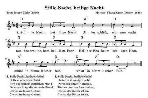 printable lyrics to noche de paz 180 grados el famoso villancico de austria noche de